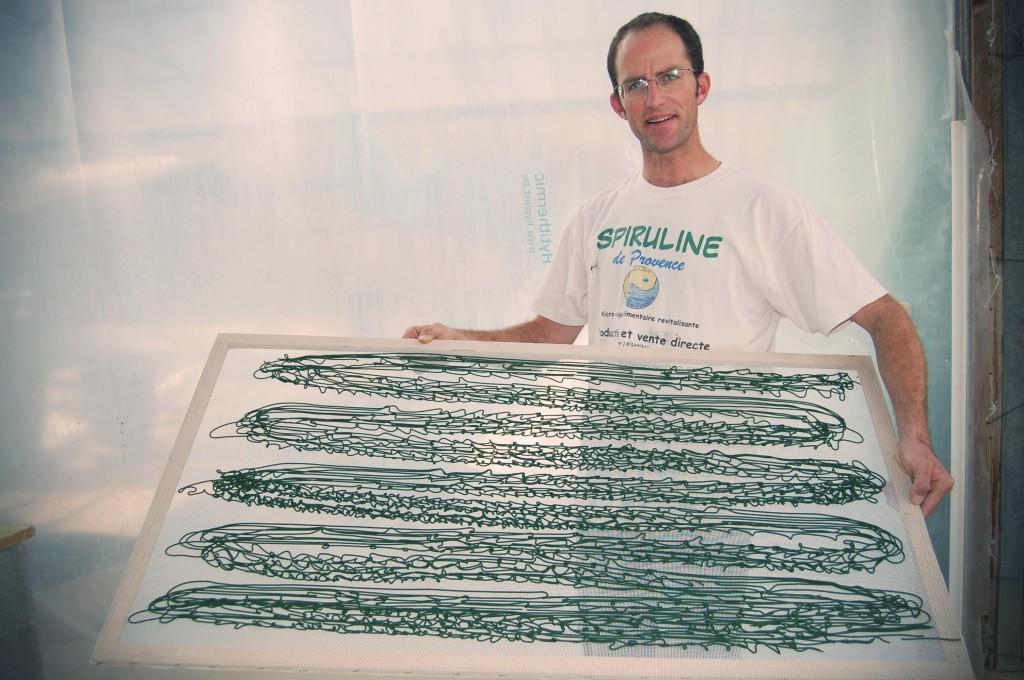 Jean-Bernard Simian producteur de spiruline