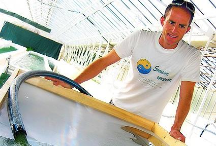 Jean-Bernard Simian - producteur spiruline de provence