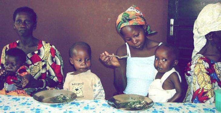 Le projet du centre nutritionnel NSB à Bangui en Centrafrique lancé par le Docteur Jean Dupire