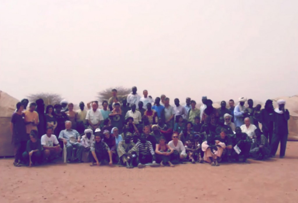 Photo de famille - Spiruline Colloque Agadez 2006