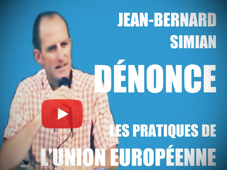 Jean-Bernard Simian Union Européenne