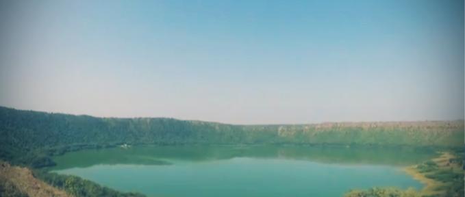Spiruline milieu naturel Lac Lonar