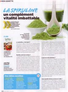 Vital Magazine n°5 spiruline 2014