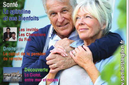 seniors region - bienfaits spiruline 2015