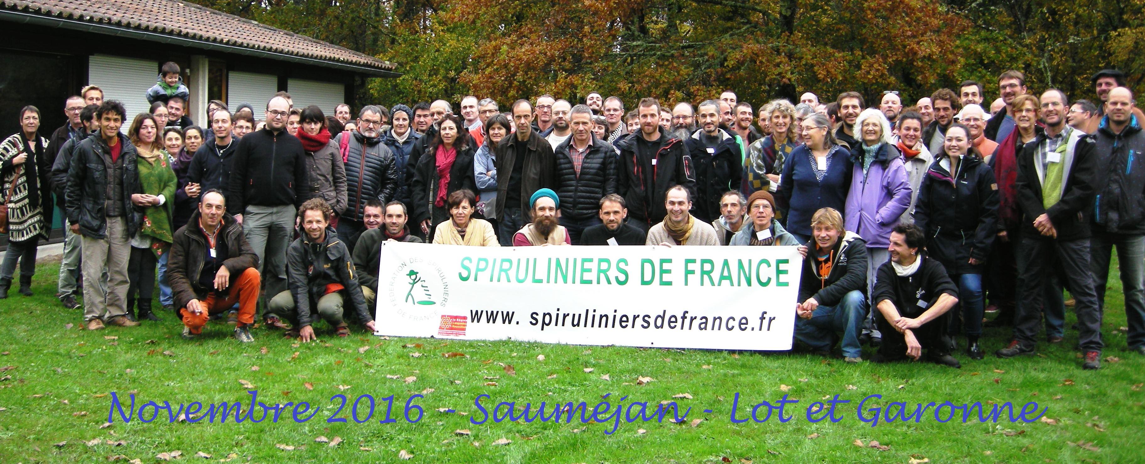 Les Spiruliniers de France au colloque 2016 à Sauméjan