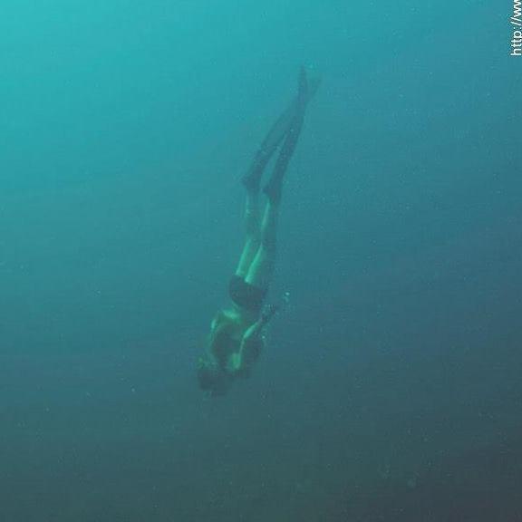 coralie Imbert apnée