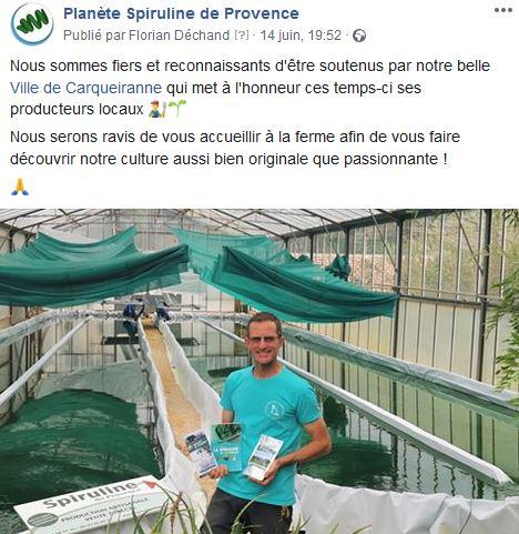 Carqueiranne soutient producteurs locaux