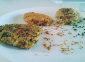 galette végétale spiruline curry